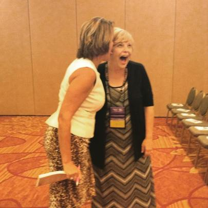 Just me and Catherine Bybee being silly!